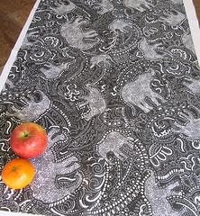 Paisley-Elephants-print-design-by-Patrick-Moriarty (Paisley Pat) Tags: elephant elephantprint print paisleypower spoonflower spoonflowerpicit paisley paisleyprint pattern jungle fabric textile