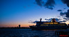 Ferry leaving Portsmouth at sunset (red.richard) Tags: ferry boat portsmouth sea sunset sky