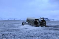 Plane in Iceland (rubenzmata) Tags: crash europe cold winter plane islandia iceland