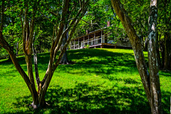"""Historic plantation and """"stand"""" (inn) (Brett of Binnshire) Tags: historicbuilding usa natcheztraceparkway lrhdr highdynamicrange manipulations house lightroomhdr architecture nationalpark historicalsite hdr mississippi locationrecorded mountlocust painterly photoshop green"""