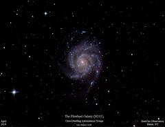 M101_April2018_HomCavObservatory (homcavobservatory) Tags: homcav observatory pinwheel galaxy m101 8inch f7 criterion reflector canon 700d dslr losmandy g11 autoguided ursa major astronomy astrophotography