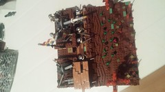 32419650_1815389861851539_1275357127996604416_n (vlad88 SW) Tags: lego moc ww1 great war romania romanian army trench artilery