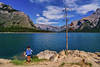 Lakeside afternoons (Jim Nix / Nomadic Pursuits) Tags: 2470mm banff canada canadianrockies jimnix lakelouise lakeminnewanka luminar macphun morainelake nomadicpursuits sony sonya7ii lake landscape mountains travel