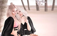 I've got her back (kat_decaf) Tags: mother daughter sl secondlife