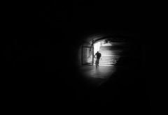 untitled-0190071 (Stevenchen912) Tags: streetphoto streetscene streetportrait geometry geo dark contrast contrst decisivemoment depth desicive blackwhite bw candid cadid lowlight alone