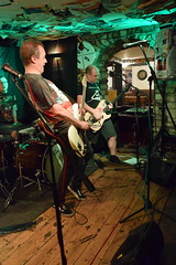 DSC_0223 (richardclarkephotos) Tags: love guitar lesser known character band three horseshoes bradford avon wiltshire uk guitars guitarists bass lead bassist drums drummer live music © richard clarke photos richardclarkephotos cat pub venue
