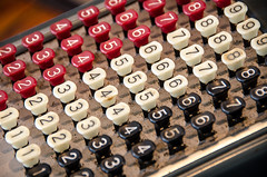 WintervilleMuseum_20180408- (Barta IV) Tags: old antique retro classic vintage machine check calculate numbers keys buttons adding register