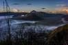 Mount Semeru and Bromo sunsrise (kuuan) Tags: indonesia voigtländerheliarf4515mm manualfocus mf voigtländer15mm aspherical f4515mm superwideheliar apsc sonynex5n bromonationalpark bromotenggersemerunationalpark caldera sunrise bromo tengger semeru