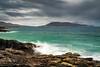 Stormy South Harris (ShaunXVII) Tags: ceapabhal scarista borve horgabost nisabost traigh iar gneiss harris isleofharris atlantic outerhebrides westernisles highlandsandislands scottishislands scotland moody longexposure rocks rockface coast