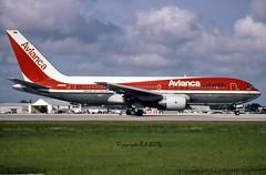 Boeing 767-259ER N986AN Avianca (EI-DTG) Tags: planespotting aircraftspotting boeing boeing767 b767 n985an avianca miamiinternational miamiairport kmia mia 03oct1990