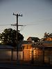 Late Sun_Wilcannia (bobarcpics) Tags: collectionofbuildings wilcannia eveninglight outbacknsw outbacktown telegraphpole corrugatediron brickwork verandah