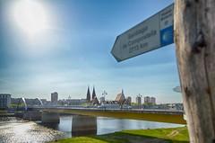 2713km (micagoto) Tags: jakobsweg pilgern oder odra frankfurt border grenze pilgerweg pilgrim bridge brücke slubice