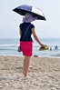 Beach style (Roving I) Tags: asians tourists colourful sea style sunhats surf umbrellas parasols crocs anklets barefeet whitesand leisure lifestyle fashion beaches fashionistas holidays vacations vietnam vertical danang
