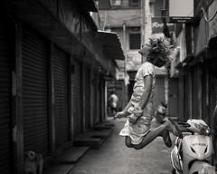Freeze (shravann93) Tags: nikon iamnikon nikonasia nikoninda street streetphotography chennai parryscorner india asia blackandwhite jump nikond700 50mmf18 freez shravann93