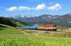 The Blue Train (Federico Santagati) Tags: 1142 rh reihe 620 575 blau blue kesselwagen phyrn phyrnbahn semmeringumleiter frosch perspektive edlbach