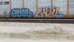 IMG_3055 (jumpsoner) Tags: freights freightculture freightgraffiti foamer foamwr freghtculture railroadphotography railroad railfan benching benchingsteel benchingtrains bencher boxcars benchingfreights bgsk photography graffiti graffculture graff