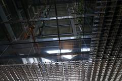 2018-04-FL-183476 (acme london) Tags: aluminium aluminiumreflectors barcelona ceiling fira hotel interior jeannouvel lobby renaissancehotelfira skylight spain suspendedceiling