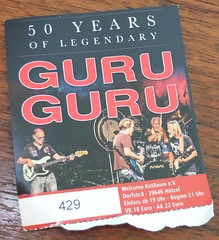 Guru Guru (Zappadong) Tags: guru krautrock progressive rock space spacerock music musik concert live konzert elektrolurch