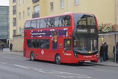 The (plate) switch: Stagecoach London Alexander Dennis E400H MMC/ADL Enviro400 527CLT (12417, ex YY66PJX) Westferry DLR Station 28/04/18 (TheStanstedTrainspotter) Tags: bus buses transport public london tfl transportforlondon publictransport stagecoach stagecoacheastlondon alexander dennis alexanderdennis adl e400 enviro400 enviro400mmc mmc e400h hybrid 527clt rm1527 12417 yy66pjx 277 crossharbour westferry