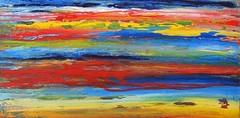 Sign on the sky (Peter Wachtmeister) Tags: artinformel mysticart modernart popart artbrut phantasticart acrylicpaint abstract abstrakt surrealismus surrealism hanspeterwachtmeister
