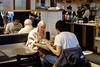 Rendez-vous exotique (Papaye_verte) Tags: montréal québec canada café couple streetphotography