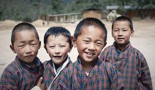 Bhutan: School Children of Haa Valley II.
