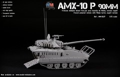 AMX-10 P PAC90 90mm (Model-Miniature / Military-Photo-Report) Tags: amx10 p 90mm turret tourelle french military vehicle véhicule militaire français en miniature scale échelle 172 pac90 pac 90 aifv