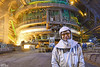 Huta im. T. Sendzimira - wielki piec nr 5, Wielkopiecownik w hali lejniczej. / Tadeusz Sendzimir Iron&Steel Works - blast furnace No.5., blast furnace worker. (Cezary Miłoś Przemysł w fakcie i obrazie) Tags: cezarymiłoś cezarymiłośfotografiaprzemysłowa cezarymiłośfotografiaindustrialna cezarymilosindustrialphotography cezarymilos 2016 wielkipiec blastfurnace castinghall halalejnicza hutnik dzieńhutnika ironworks ironsteelworks arcelormittal arcelormittalpoland kraków małopolska małopolskie metallurgist blastfurnaceworker poland polska polen przemysłciężki przemysłmetalurgiczny metalurgia metallurgy metalurgiaekstrakcyjna ludziepracy