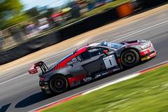Blancpain GT Series Sprint Cup - Brands Hatch (E_W_Photo) Tags: audi r8 blancpaingt brandshatch car motorsport motorracing panning druidsbend canon 80d 70200mmf4lis