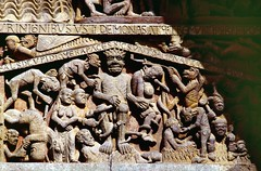 Conques (Aveyron) (Cletus Awreetus) Tags: france massifcentral aveyron conques architecture abbatiale église artroman tympan sculpture porche rouergue