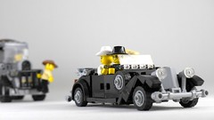 Raiders of the Lost Ark (Rebla) Tags: raiders lost ark lego rebla indiana jones mercedesbenz mercedes benz car indy german movie