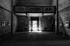 The Entrance (drugodragodiego) Tags: casina reggioemilia emiliaromagna mostra exhibition church italianchurch shadow light dark blackandwhite blackwhite bw biancoenero pentax pentaxk1 k1 pentaxdfa2470mmf28 hdpentaxdfa2470mmf28edsdmwr