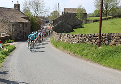 Tour de Yorkshire 2018, Stage 4 at Eastby (3) (Walruscharmer) Tags: teamastana bardenroad cotedebardenmoor peloton cyclerace eastby northyorkshire tourdeyorkshire england