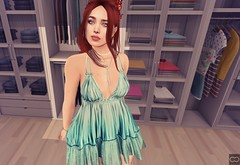 Feeling Good As New (Cryssie Carver) Tags: secondlife second life sl avatar fameshed weloveroleplay we love role play rp weloverp tresblah tres blah cae wasabi izzies league suicidalunborn suicidal unborn catwa maitreya anlarposes an lar poses consignment cheekypea cheeky pea