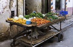 Havana Fruit & Veggies (Snappy_Snaps) Tags: cuba havana caribbean farmersmarket sell rawpotato wicker market bucket marketstall greengrocersshop vendor
