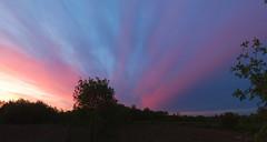 Vanishing (Bohdan Tymo) Tags: sunset sky clouds hugin