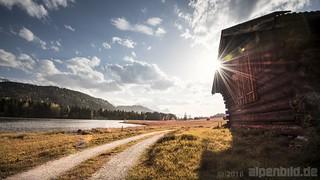 Sonniger Nachmittag am Geroldsee