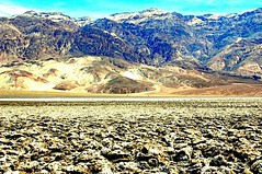 The Amagosa Range from Devil's Golf Course (EmperorNorton47) Tags: deathvalleynationalpark california photo digital spring desert drylake saltpan mountains unesco worldheritagesite nps landscape