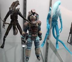 2017-Alien Action Figures at SDCC-05 (David Cummings62) Tags: sandiego ca calif california comiccon con david dave cummings 2017 alien aliens movie movies actionfigures