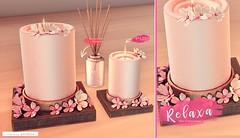 Kustom9 - Ariskea - Relaxa (ariskea) Tags: kustom9 ariskea secondlife new decor home cute garden candle