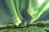 Lofoten 2018 (Stefan Giese) Tags: nikon d750 norwegen norway lofoten tamron tamron1530mmf28 1530 sildpollnes green grün auroraborealis polarlicht nrthernlight kirche kapelle church