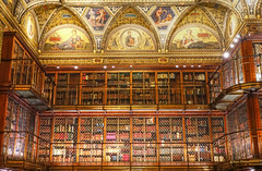 Morgan Library (albyn.davis) Tags: hdr morgan library nyc newyorkcity books light building interior museum