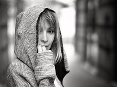 Gisela OT Portrait (Jose Angel Ortega Mora) Tags: fotógrafo ortega angel jose triunfo operacion actual gisela retrato negro blanco
