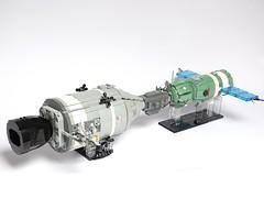 Apollo-Soyuz Test Project LEGO Model 1:32 scale (LuisPG2015) Tags: sovietunion usa cosmonaut astronaut dockingmodule spaceexploration space apollosoyuztestproject apollosoyuz soyuz apollo lego