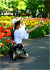 To Prove that I was There (Hindrik S) Tags: selfie smartphone girl candid tulips tulpen color colour kleur farbe couleur yellow red sonyphotographing sony sonyalpha a57 α57 slta57 sal1650 sony1650mmf28dtssm keukenhof lisse zuidholland netherlands nederland flowers blommen bloemen 2018