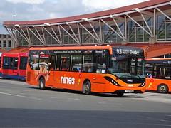 trent barton 160 Mansfield (Guy Arab UF) Tags: trent barton 160 yx66wmk alexander dennis e20d enviro 200 mmc mansfield bus station nottinghamshire wellglade buses wellgladegroup