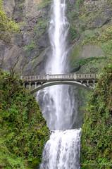 Multnomah falls (sandy bohlken) Tags: columbiagorge 2018 oregon waterfall multnomahfalls april