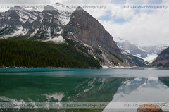 Azure Dreams (ficktionphotography) Tags: alberta canada canadianrockies clouds explore glaciers ice lakelouise landscapes mountains snow waterscapes