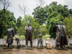 Communistas (edlondon27) Tags: albania balkan europe stalin lenin hoxha josef enver communism statues coldwar tirana