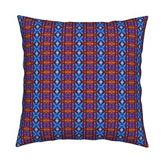 Indian Blanket (justmeewowydesign) Tags: justmeewowydesign knifeedgedthrowpillows tiedyepatterns tiedyethrowpillows tiedyesquarepillows squarepillows homefurnishings pillows roostery sproutpatterns spoonflower spoonflowerfabrics tiedyepillows tiedye indian indianblanket indiandesign americanindian blanket striped stripepattern tiedyestripes diamonds tiedyediamonds blue red blueandred